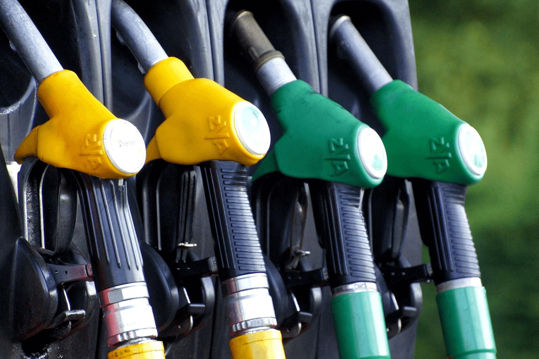 Zapfsäule für benzin und Diesel
