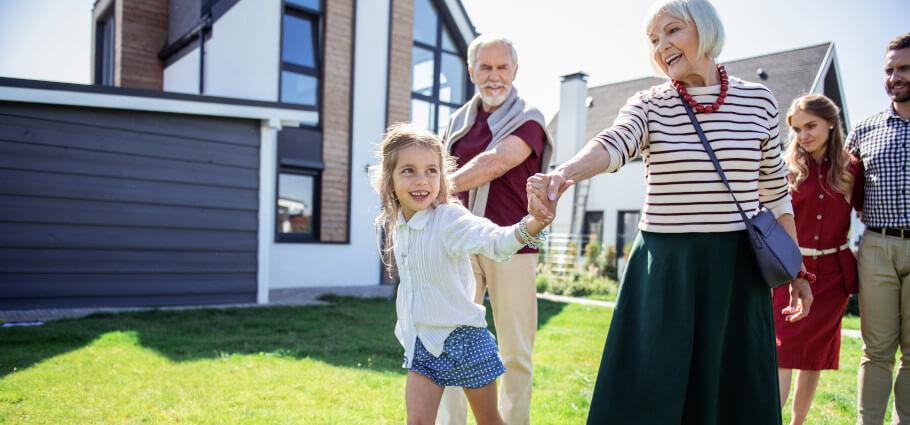 Generationen einer Familie